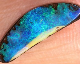 3.3ct 16x5mm Queensland Boulder Opal  [LOB-1603]