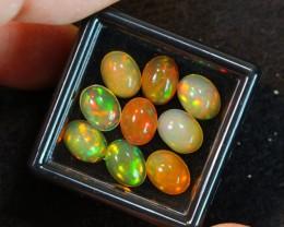 7.12ct  8x6mm  Welo Polished Opal Lot