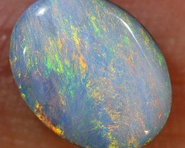 1.8ct 9x7mm Queensland Boulder Opal  [LOB-1618]