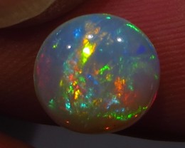 Brilliant! Ethiopian Welo Polished Opal AAA 1.6cts #652