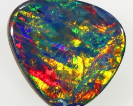 2.65CTS   OPAL DOUBLET GREAT COLOUR PLAY S247
