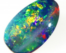 2.95CTS   OPAL DOUBLET GREAT COLOUR PLAY S252