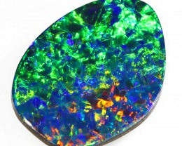 6.65CTS   OPAL DOUBLET GREAT COLOUR PLAY S261