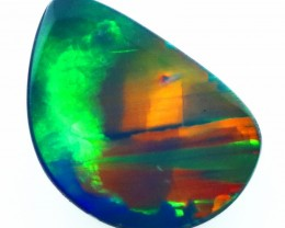 2.35CTS   OPAL DOUBLET GREAT COLOUR PLAY S262
