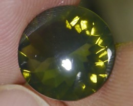 UNTREATED CLEAR GREEN FIRE INDONESIAN FACETED OPAL 2.25 CT