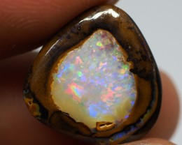 9.15CT GEM MATRIX YOWAH OPAL NUT WITH AMAZING PATTERN TT609