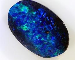 0.8ct 8x3mm Queensland Boulder Opal  [LOB-1623]