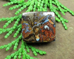 "25cts,""BOULDER MATRIX OPAL~BEEN MINNING"""