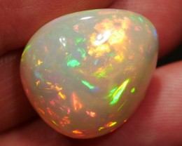 30.68 ct Very Bright Ethiopian Opal - Insured Shipping