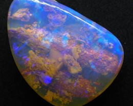 5.45CT VIEW PIPE GEM WOOD REPLACEMENT BOULDER OPAL TT644
