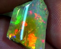 11.20 cts Ethiopian Welo CHAFF crystal opal N9 4/5