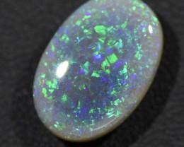 6.76cts Lightning Ridge Semi Black Opal (R2901)