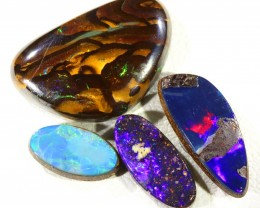 9.0Cts Boulder Opal and Doublet Opals  SU1432