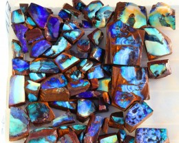 0.780Kilo 65pcs Opal cutters Dream Parcel rough boulder Opals. SU1439