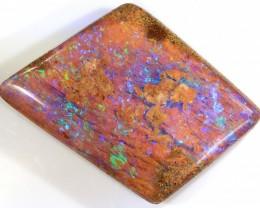 12.8ct 28x17mm Pipe Wood Fossil Boulder Opal  [LOB-1699