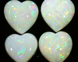 5.41CTS SET 4 COOBER PEDY OPAL PARCELS GREAT COLOUR PLAY   S318