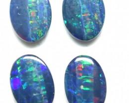 Australian Doublet Opal 2 Pair 7 x 5mm Parcel