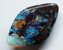 8.10CT GEM MATRIX YOWAH DOUBLE SIDED OPAL WITH AMAZING PATTERN OI393
