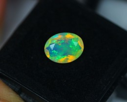 NR#  1.41Ct Ethiopian Welo Faceted Opal Lot LW105