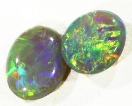 2.60Cts 2pcs TREATED Drak Ridge Opal SU1440