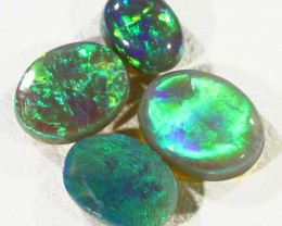 2.90Cts 4pcs TREATED Drak Ridge Opal SU1441