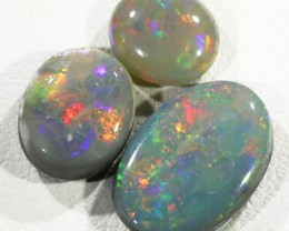 4.25Cts 3pcs TREATED Drak Ridge Opal SU1443