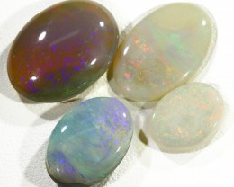 19.80Cts 4pcs TREATED Drak Ridge Opal SU1444