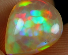 3.25cts CELL AND FLASH FIRE Natural Ethiopian Welo Opal