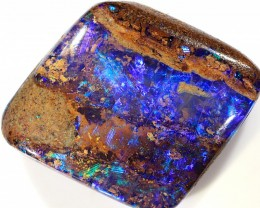 8.5ct 13.5x13mm Pipe Wood Fossil Boulder Opal  [LOB-1715]