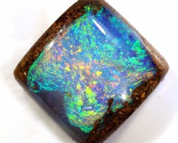 3.9ct 9x9mm Pipe Wood Fossil Boulder Opal  [LOB-1722]
