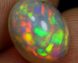 WHOLESALE - 2.80cts Astonished Rainbow Fire Ethiopian Opal