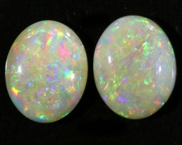3.30CTS Pair COOBER PEDY OPAL PARCELS GREAT COLOUR PLAY   S343
