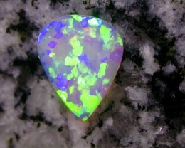1.66ct EXTR 3D DOUBLE SIDED BLOCK PUZZLE PATERN CRYSTAL OPAL