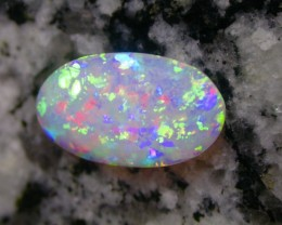 2.42ct EXTR 3D DOUBLE SIDED MULTI PATERN AAA OVAL OPAL