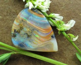 """9.5cts, """"BOULDER OPAL~QUALITY VALUE STONE"""""""
