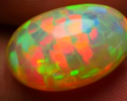 6.35 CRT BRILLIANT ROLLING FLASH HONEYCOMB FIRE PATTERN WELO OPAL-