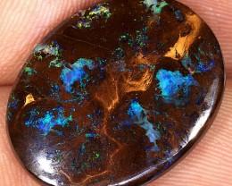 17.5ct 24x19mm Queensland Boulder Matrix Opal  [LOB-1750]