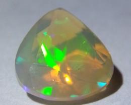 1.42 ct  Natural Ethiopian - Pear Cut -  Fire Opal