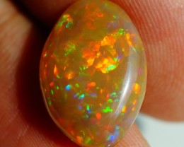 4.85CT DARK MULTI RAINBOW FLASHY ETHIOPIAN OPAL-AE69