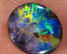 2.9ct 9x7.5mm Queensland Boulder Opal  [LOB-1757]