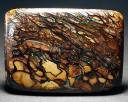 Striking  Yowah Boulder Opal, Natural Australian Solid Opal, Real Opal