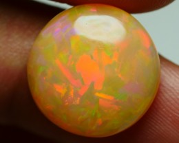 6.35 CRT AMAZING ROUND 3D JIGSAW PUZZLE FIRE NEON WELO OPAL-