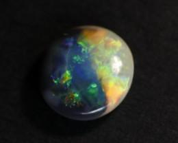 Yin Yang Black Opal - Lightning Ridge Black Opal/Crystal Opal - 2.5cts, Aus