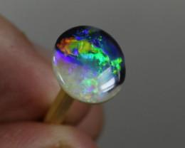 Yin Yang Black Opal - Lightning Ridge Black Opal/Crystal Opal - 2.7cts, Aus