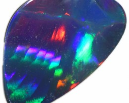 1.90 CTS  GEM OPAL DOUBLET FROM LIGHTNING RIDGE. [SEDA1341]SAFE