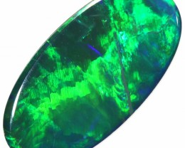 1.90 CTS  GEM OPAL DOUBLET FROM LIGHTNING RIDGE. [SEDA1354]SAFE