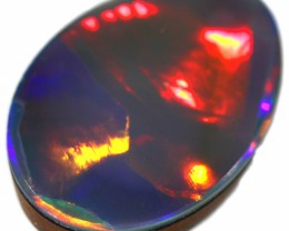 3.45 CTS  QUALITY OPAL DOUBLET FROM LIGHTNING RIDGE. [SEDA1399]SAFE