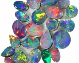 8.75 CTS  SMALL OPAL DOUBLET PARCEL FROM LIGHTNING RIDGE. [SEDA1437]