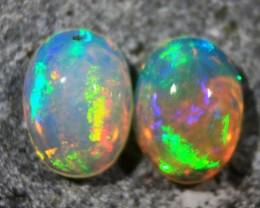 Cts.1.50  RT313    NR Pair Ethiopian Wello Opal
