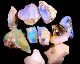 Parcel  Rough Wello Opals  Tot.Cts.  35.0   RT266    10   Stones